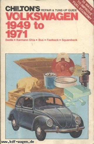 VW - Chilton's repair and tune up guide, Volkswagen 1949 to 1971 - 0-8019-5796-6 - [87]-1