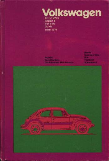 VW - Chilton's repair and tune up guide, Volkswagen 1949 to 1971 - 0-8019-5624-2 - [88]-1