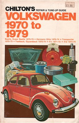 VW - Chilton's repair and tune up guide, Volkswagen 1970 to 1979 - Robert F. King - 0-8019-6837-2 - [90]-1
