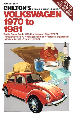 VW - Chilton's repair and tune up guide, Volkswagen 1970 to 1981 - 0-8019-6837-2 - [91]-1