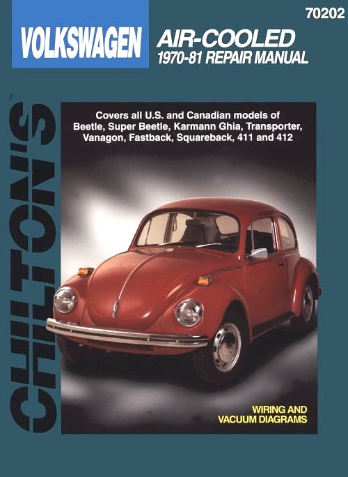 VW - Chilton's Volkswagen: air cooler 1970-81 repair manual - Chilton Staff - 0801989752 - [93]-1