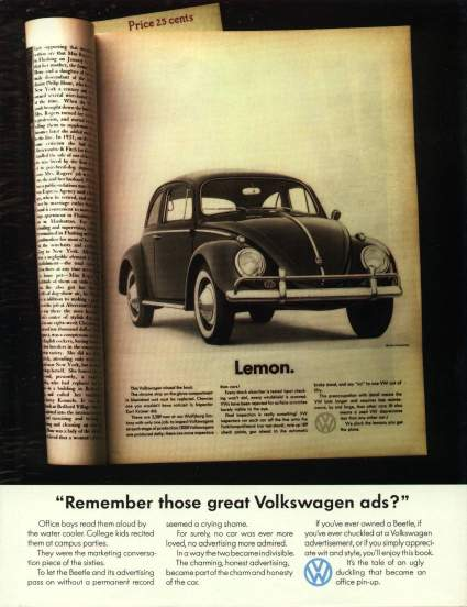 remember those great volkswagen ads pdf