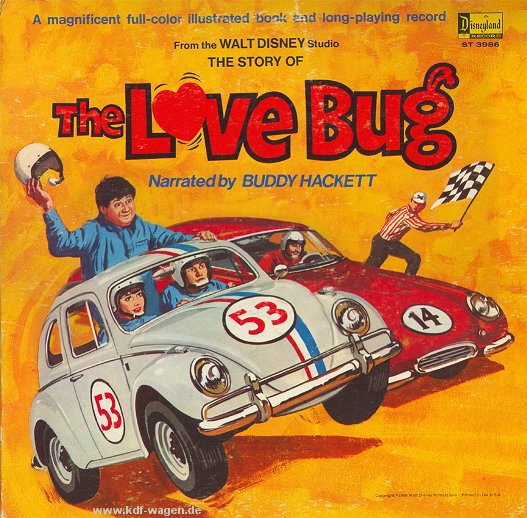 VW - The Love Bug - Buddy Hacket - - - [599]-1