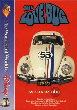 VW - The love Bug, the wonderful world of Disney series - Scott Sorrentino - 0786842113 - [600]-1