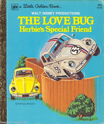 VW - The Love Bug. Herbies´s Special Friend - Walt Disney Productions - - - [601]-1
