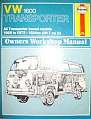 VW - VW 1600 Transporter Owners Workshop Manual: all Transporter based models, 1968 to 1972 - Haynes & Stead - - - [793]