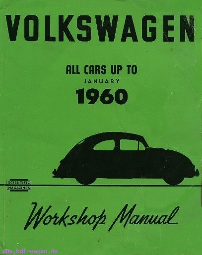 VW - Volkswagen All cars up to january 1960 - [1009]-1