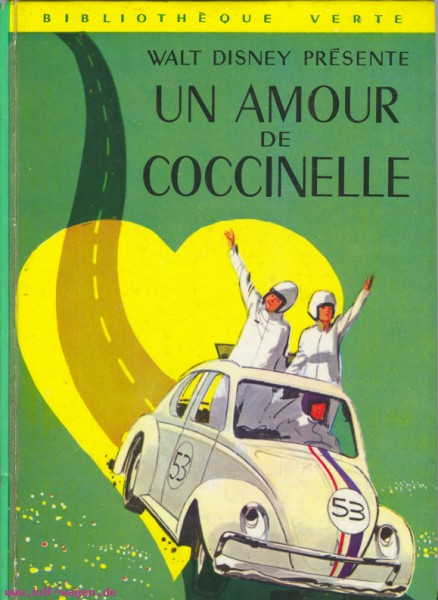 VW - Un amour de coccinelle - Walt Disney Productions - [1042]-1