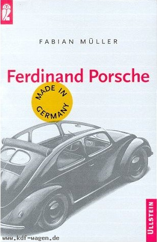 VW - Ferdinand Porsche, made in Germany - Fabian Müller - 3548358713 - [1069]-1