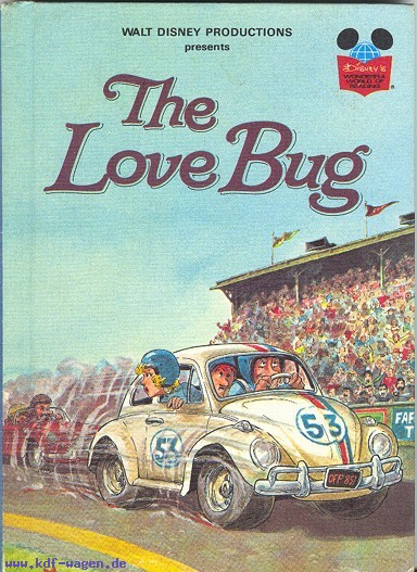 VW - The Love Bug - Walt Disney Productions - 0-394-84139-5 - [1077]-1