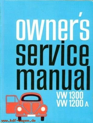 VW - Owner´s service manual. VW 1300 1200A - - - [1094]-1