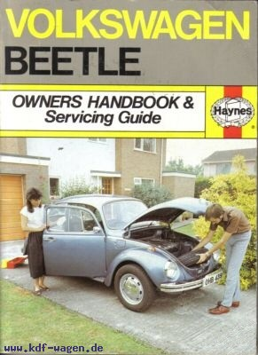 VW - Volkswagen Beetle Owners Handbook and Servicing Guide 1954-1977 - A.K. Legg - [1111]-1
