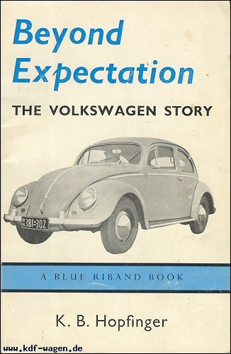 VW - Beyond expectation The Volkswagen story.  - K.B. Hopfinger - [1126]-1