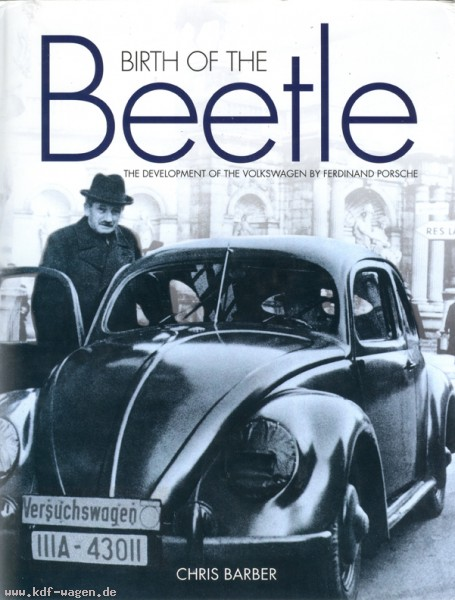 VW - Birth of the BEETLE - Chris Barber - 1 85960 959 7 - [1164]-1