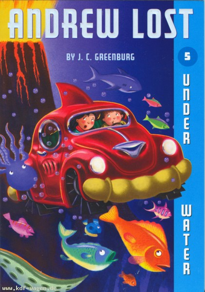 VW - Andrew Lost Under Water - Greenburg, J. C./ Reed, Mike (ILT) - 0-37582-523-1 - [1169]-1