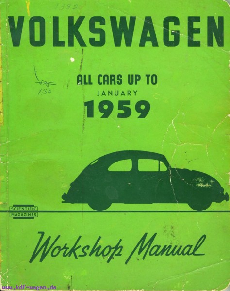 VW - Volkswagen All cars up to january 1959 - [1197]-1