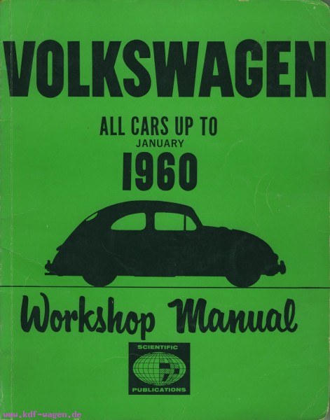 VW - Volkswagen All cars up to january 1960 - [1198]-1