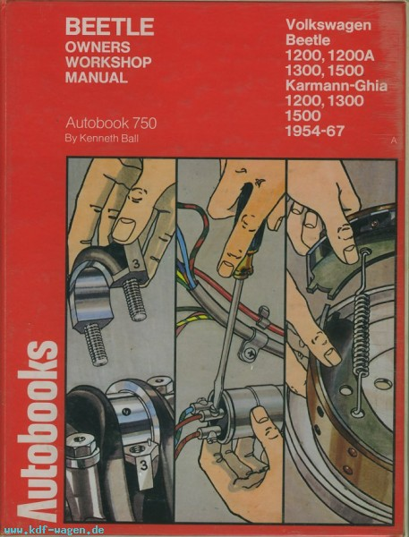 VW - Beetle Owners Workshop Manual. 1954-1967 - Kenneth Ball - 0-8019-5624-2 - [1201]-1