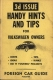 VW - Handy Hints and Tips for Volkswagen owners. Issue 3 - Foreign Car Guide - [1241]