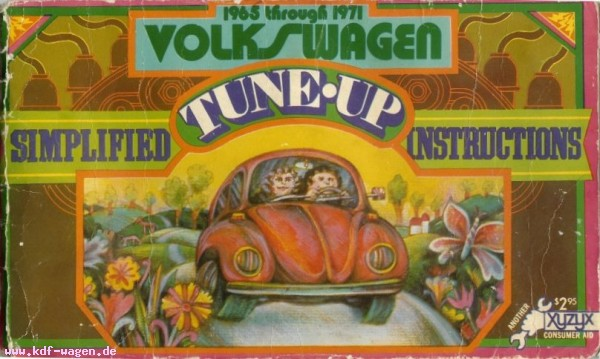 VW - Simplified tune-up instructions 1965 through 1971 Volkswagen - [1250]-1