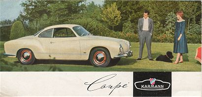 VW - 1956 - Coupe - w 7/92 - [1541]-1