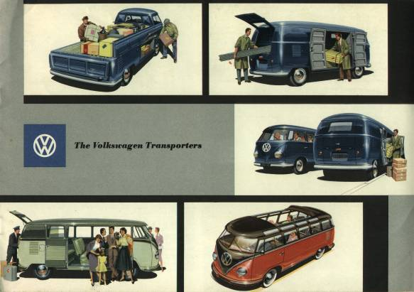 VW - 1957 - The Volkswagen Transporters - w 1/17 E - [1555]-1