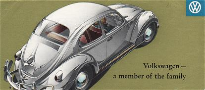 VW - 1958 - Volkswagen - a member of the family - w 2/62 - [1606]-1