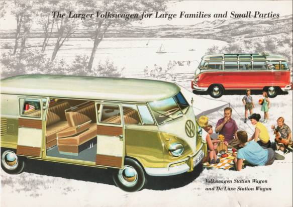 VW - 1958 - The large Volkswagen for large families and small parties - w 2/76/8.58 - [1612]-1