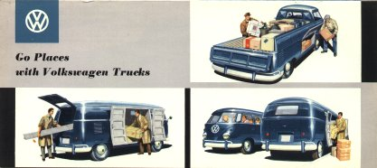 VW - 1958 - Go Places with Volkswagen Trucks - w 2/79/8.58 - [1615]-1