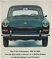 VW - 1964 - This is the Volkswagen 1500 for 1964. - [1815]