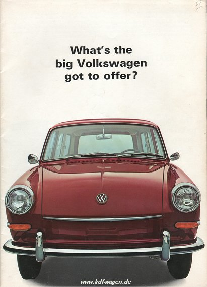 VW - 1966 - What´s the big Volkswagen got to offer? - 645-301-200 - [1876]-1