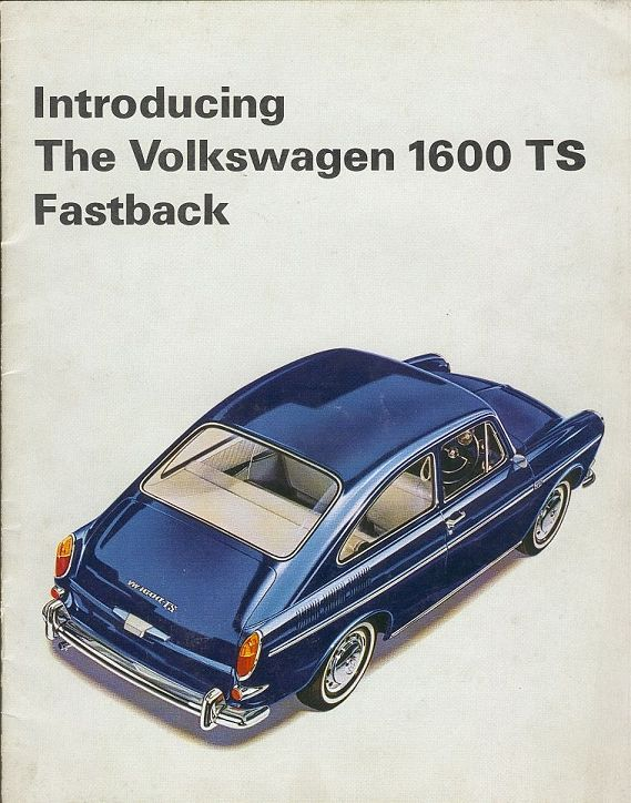 VW - 1966 - Introducing the Volkswagen 1600 TS Fastback - [1880]-1