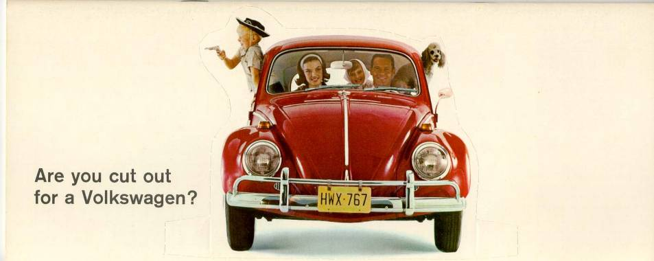 VW - 1966 - Are you cut out for a Volkswagen? - 33-00-66050 - [1886]-1