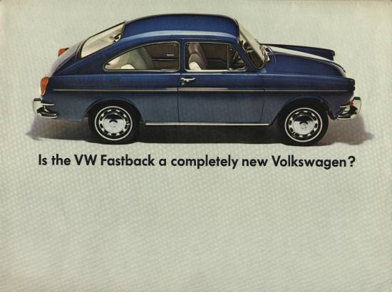 VW - 1966 - Is the VW Fastback a completely new Volkswagen? - 33-31-62010 - [1889]-1