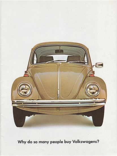 VW - 1967 - Why do so many people buy Volkswagens? - 645 103 200  8/67 - [1906]-1