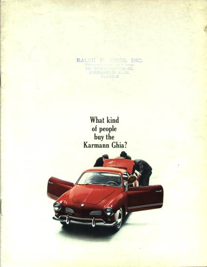 VW - 1967 - What kind of people buy the Karmann Ghia? - 33-14-76010 - [1917]-1