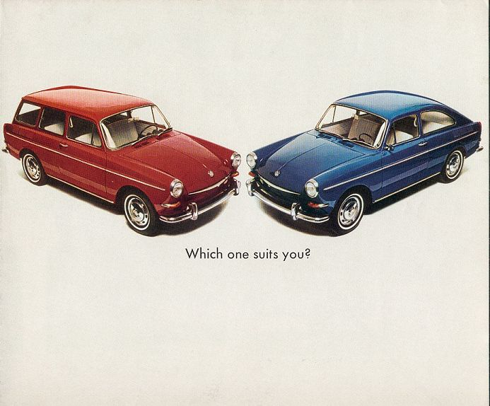 VW - 1967 - Which one suits you ? - 33-30-76010 - [1918]-1