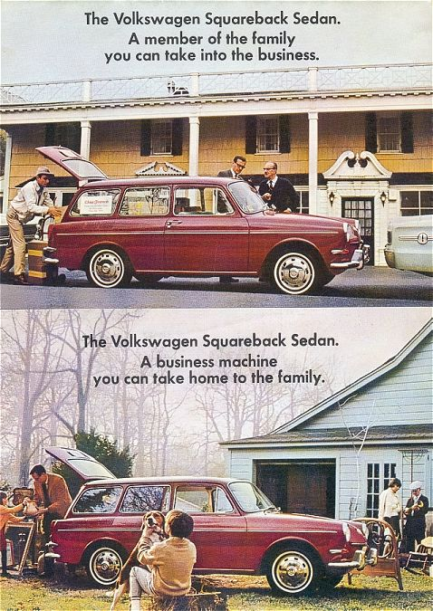 VW - 1967 - The Volkswagen Squareback Sedan... - 36-30-72012 - [1920]-1