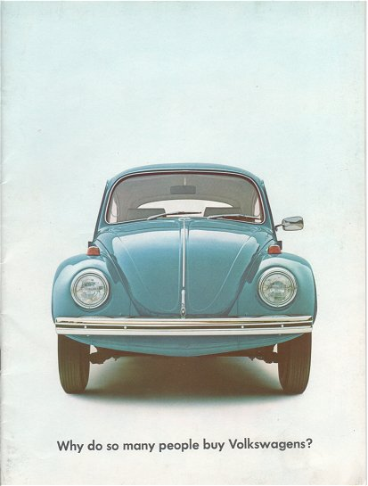 VW - 1968 - Why do so many people buy Volkswagens? - 645 105 200  8/68 - [1942]-1