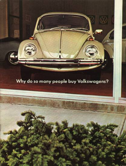 VW - 1968 - Why do so many people buy Volkswagens? - 33-11-86010 - [1954]-1