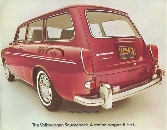 VW - 1968 - The Volkswagen Squareback. A station wagon it isn´t. - 33-32-86010 - [1957]-1