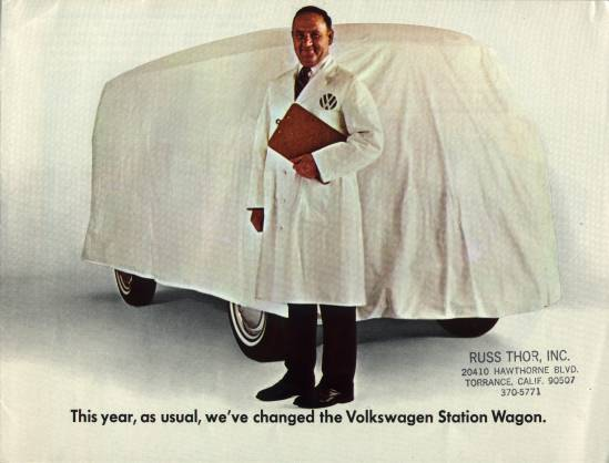 VW - 1968 - This year, as usual, we´ve changed the Volkswagen Station Wagon. - 36-22-82011 - [1958]-1
