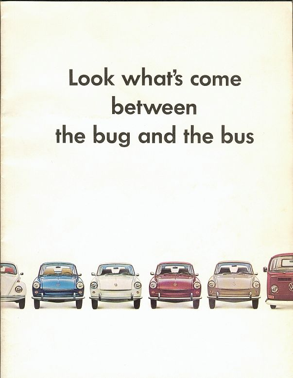 VW - 1968 - Look what's come between the Bug and the Bus - 645 302 200 - [1959]-1