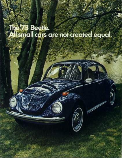 VW - 1973 - The ´73 Beetle. All small cars all not created equal. - 33-11-36010b - [2167]-1