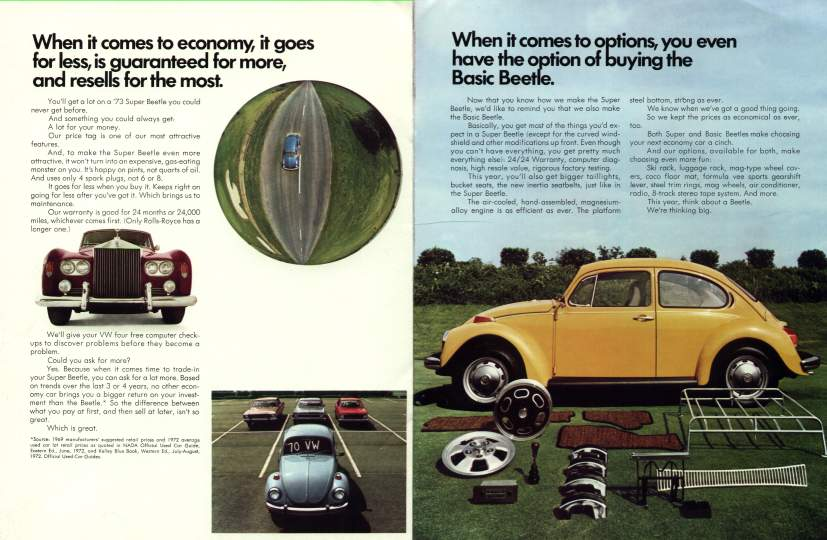 VW - 1973 - The ´73 Beetle. All small cars all not created equal. - 33-11-36010b - [2167]-4