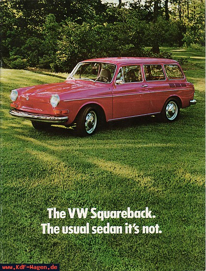 VW - 1973 - The VW Squareback.  The usual sedan it's not. - 33-32-36010 - [2169]-1