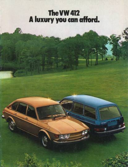 VW - 1973 - The VW 412. A luxury you can afford. - 33-40-36010 - [2170]-1