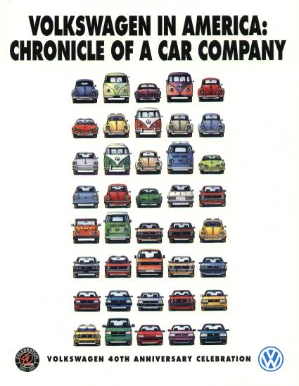 VW - 1995 - Volkswagen in America: Chronicle of a car company. - [2280]-1