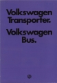 VW - 1978 - VW Transporter. VW Bus - 706/119.003.00  1/78 - [2293]
