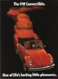 VW - 1974 - The VW Convertible. One of life´s lasting little pleasures - 33-11-46010 - [2297]